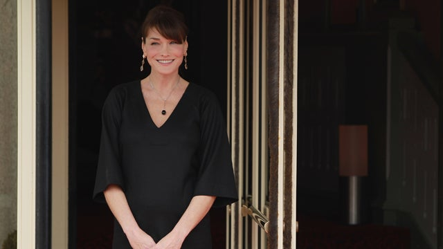 Carla Bruni Won't Let The Media Publish Photos Of Her Baby