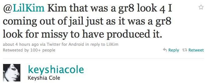Twitter Feud: Lil' Kim Vs. Keyshia Cole