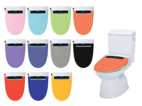 Inax Bidet Toilet Seats Spray Your Butt in Living Color