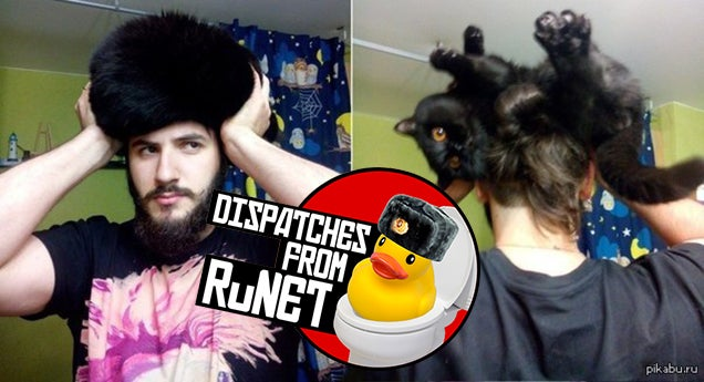 Why These Russians Have Cats on their Heads, and Other Memes Explained