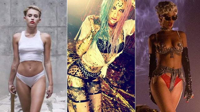 The Problem With All These Half-Naked Pop Stars