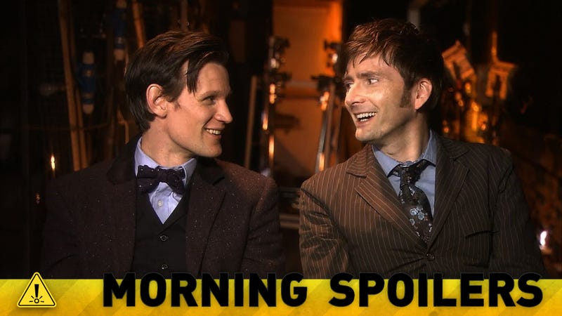 Matt Smith and David Tennant chat about Doctor Who's 50th birthday!