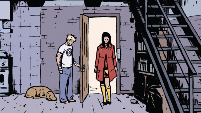 Hawkeye Misses His Target in My Favorite Panel From This Week's Comics. What's Yours?