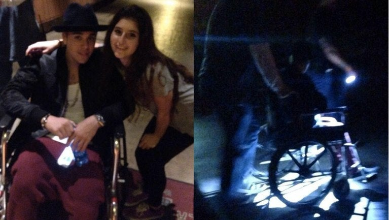 Justin Bieber Accused of Cutting Disneyland Lines in Bogus Wheelchair