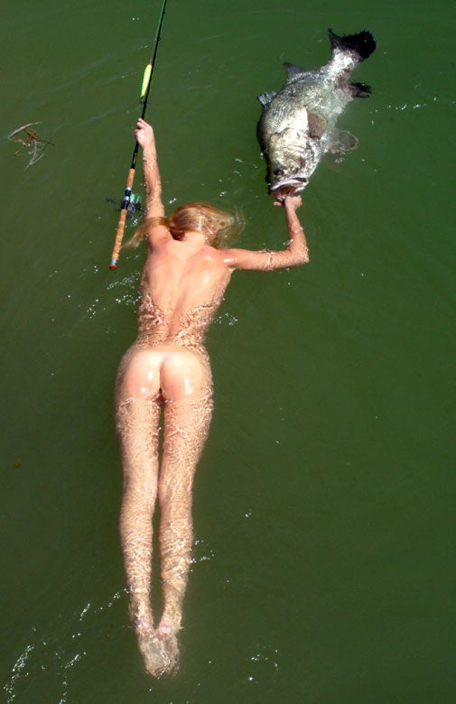 Leading Danish Fishing Magazine Accused of Objectifying Both Women and Animals for Publishing Photos of Naked Ladies Making Out with Fish (NSFW)