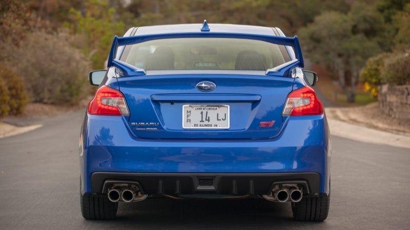 2015 Subaru WRX STI: The Big Winged Rude Blue Rally Machine You Deserve
