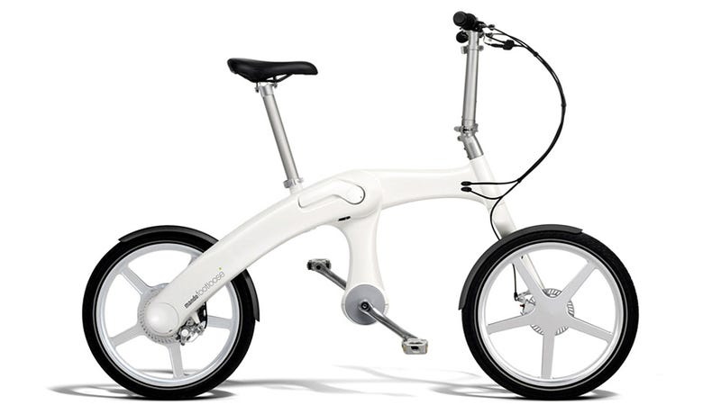 This Chainless Electric Bike Makes You the Backup Generator