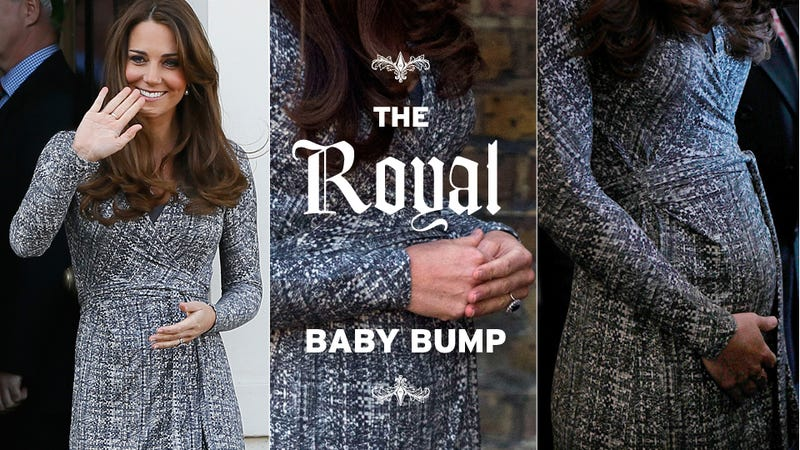 Kate Middleton Looks Pregnant As Hell