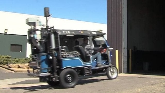 The Denver Zoo's Poo-Powered Rickshaw