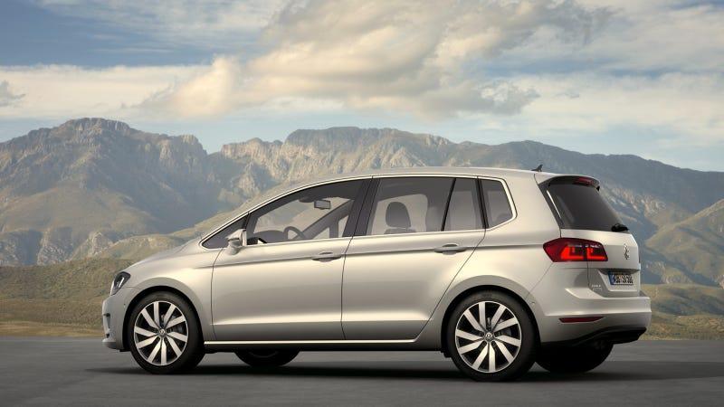 VW Golf Sportsvan Concept Asks Again: 'Who Wants A Tall Golf?'