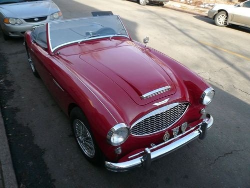 1958 Austin-Healey 100-Six Down On The Denver Street