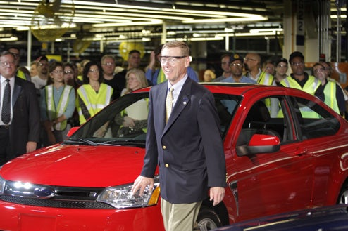 Ford CEO To Drive To Washington, D.C. For Not-A-Bailout Hearings