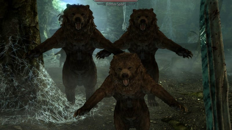 Skyrim: Now With (More) Bears