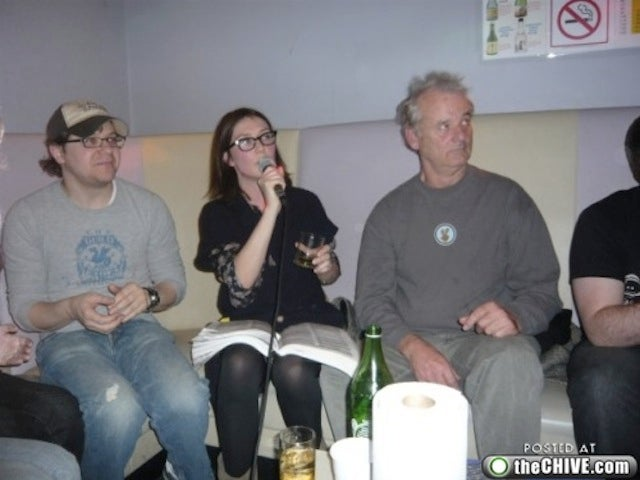 Bill Murray's Karaoke Night With Total Strangers