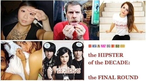 Drop Everything and Vote For Hipster of the Decade