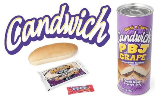 It's Sandwich In A Can!