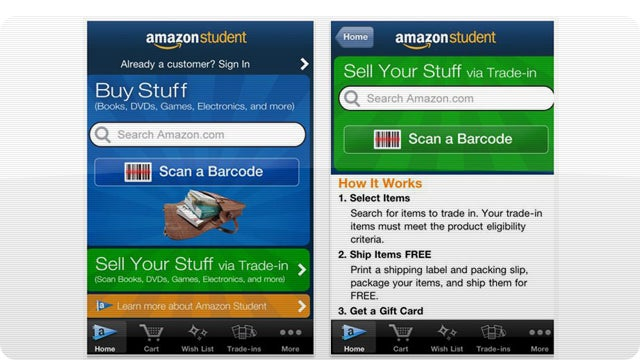 Amazon Student Lets College Kids Trade In Their Hated Textbooks