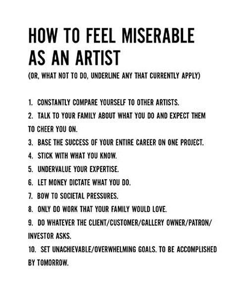 If you're going to Art, here are some thoughts