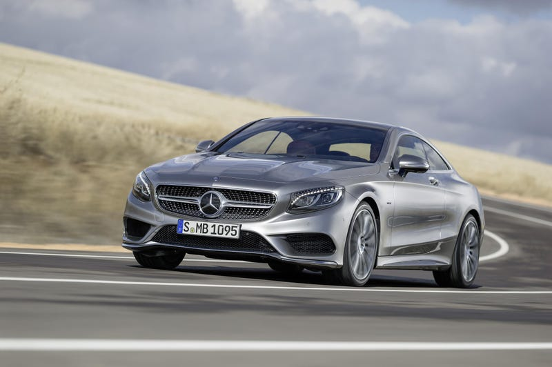 The 2015 Mercedes-Benz S-Class Coupe Has 47 Crystals In Its Headlights