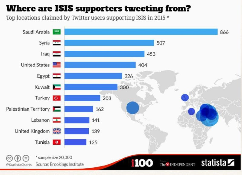 See Who supports ISIS
