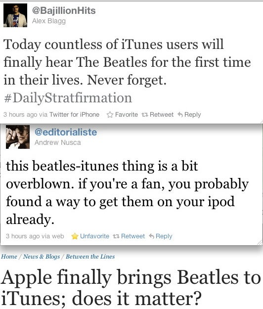 Why You're Too Cool for the Beatles on iTunes
