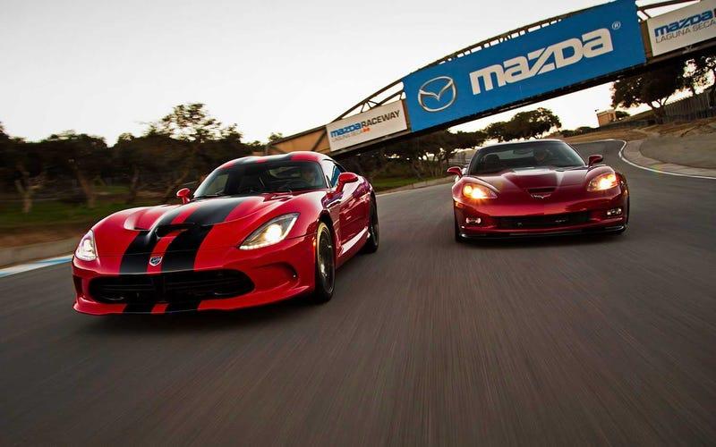 Oppo Rivals: Chevrolet Corvette vs SRT Viper