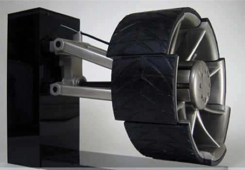 Concept Tire Splits in Eight to Maintain Traction at all Times