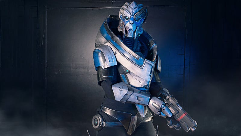 Garrus Cosplay Is The Perfect Mass Effect Tribute