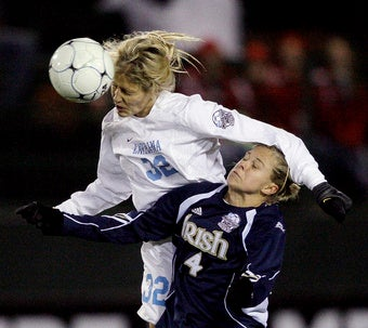 Women's Soccer Becoming More Popular