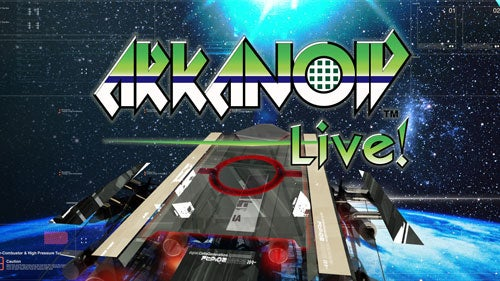 First Arkanoid Live! Screens Deserve Compulsory Exclamation Point