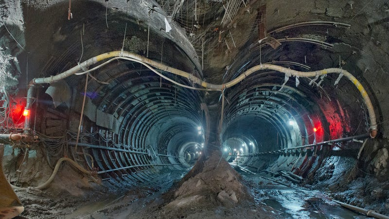 Incredible Images of the Massive New Tunnels Hollowing New York City