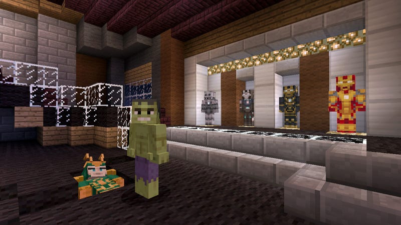 The Avengers Are Assembling in Minecraft: Xbox 360 Edition [Update]