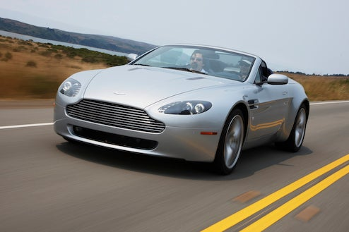2009 Aston Martin V8 Vantage, Reviewed