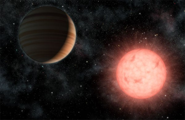 Newly Discovered Planet Is As Big As Its Star