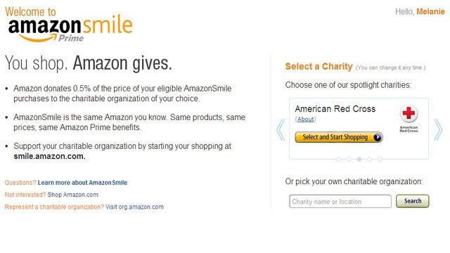 AmazonSmile Donates Part of Your Purchases to Your Favorite Charity