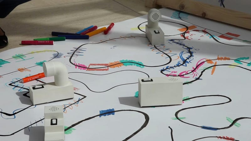 Little Robots Turn Marker Squiggles Into Sound