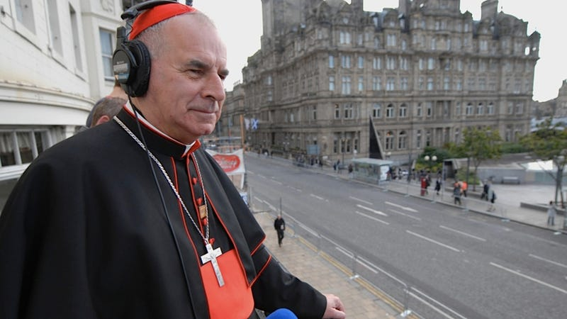 Spokesman for the Catholic Church in Scotland Admits That the Church Isn't Very Good with Sexuality