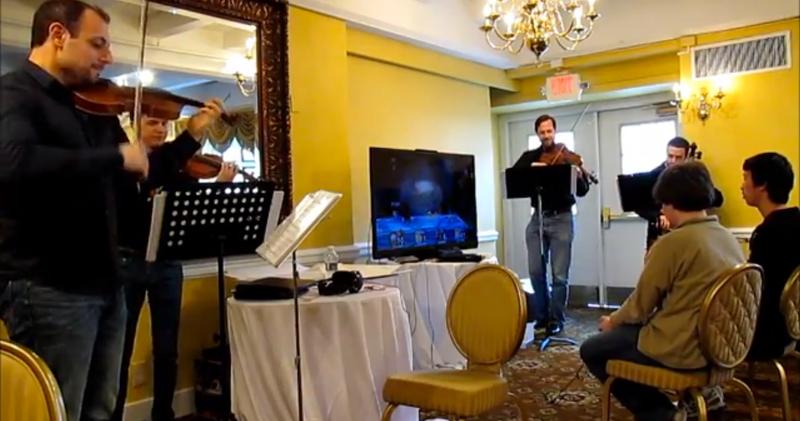 String Quartet Makes Smash Bros. Match Super-Classy