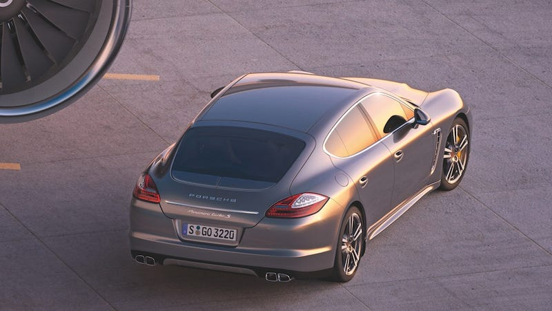 The Porsche Panamera Turbo S is a bootylicious power boost