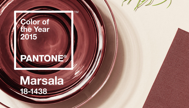 Pantone's 2015 Color of the Year Is Warm, Comforting Booze