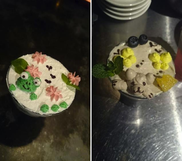 ​3D Cocktail Art Is Cute and Will Get You Drunk