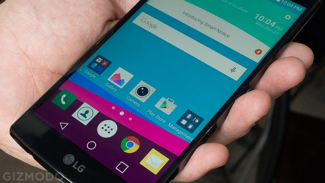 LG G4 Hands-On: The Slow Perfection of the Old-School Android Phone