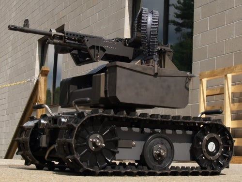 New Armed Robots in Iraq Were Built For Killin'