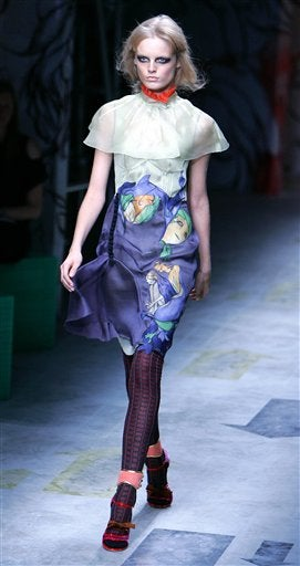 Prada Spring/Summer '08 As Gloriously Mismatched As It Wants To Be