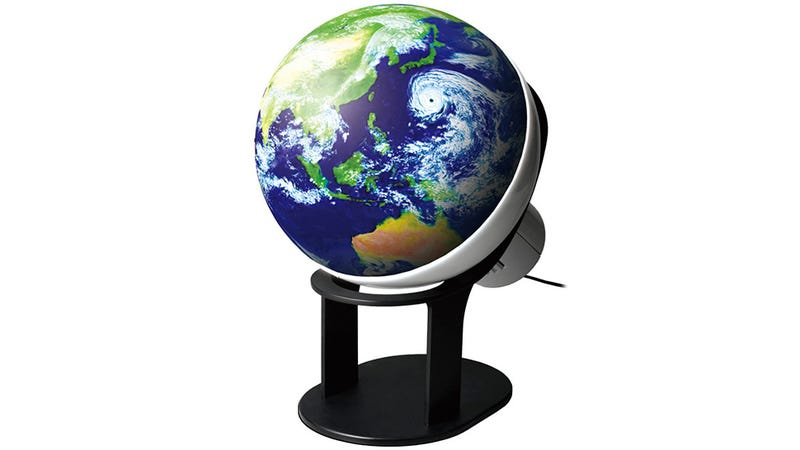 This Animated Globe Lets You See the Earth Like You Were in Space