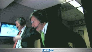 Jack Edwards Was Literally Jumping Up And Down When The Bruins Tied The Game