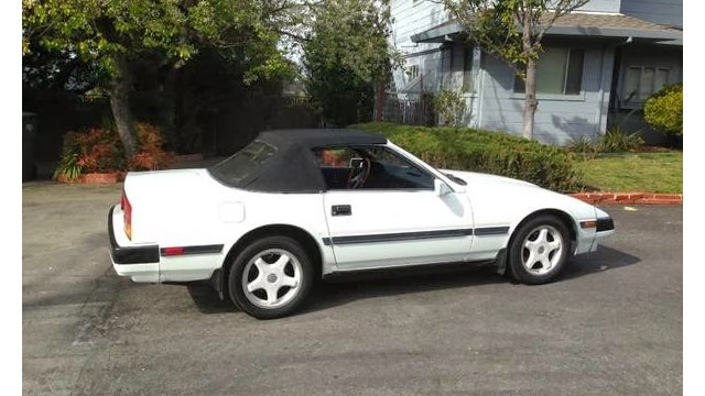 Go Topless In A Custom Z31 300ZX Convertible
