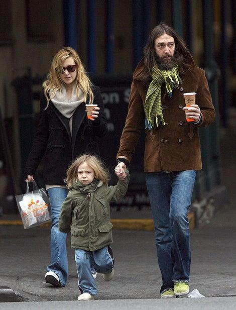 Kate Hudson, Ryder & Chris Robinson: Long Hair & Jeans
