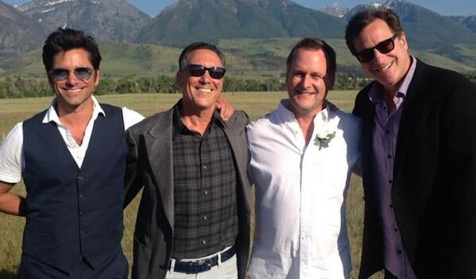 See the Full House Cast Together Again at Dave Coulier's Wedding