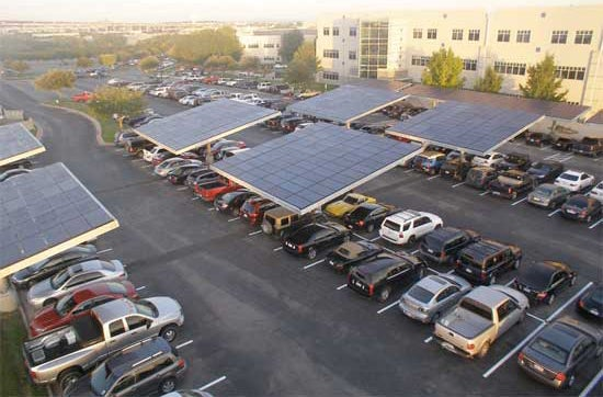 Dell's New Solar Parking Lot
